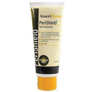Ameriderm Perishield™ Barrier Ointment And Protectant Cream, Vitamins A, D And E And Aloe Enriched, 4 Oz Tube