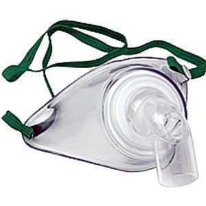 Allied Healthcare Adult Tracheotomy Mask With Elastic Strap, Latex-Free