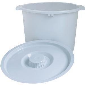 Replacement Pail With Lid, 6-7/10 X 11-1/5