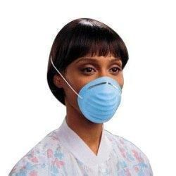 Molded Cone Professional Blue Mask Cone-style Headband Kimberly-clark With