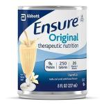 Product Photo: Abbott Nutrition Ensure® Immune Health Ready-to-Drink Vanilla Institutional 237mL Can, Gluten-free, Low-residue