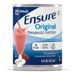 Product Photo: Abbott Nutrition Ensure® Immune Health Ready-to-Drink Strawberry Institutional 237mL Can, Gluten-free, Low-residue