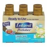 Product Photo: Mead Johnson Enfamil ProSobee Ready-to-Feed Infant Formula, Gluten-free, Lactose-free 8 oz.