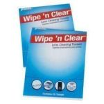 Product Photo: Flents® Wipe 'n Clear® Lens Cleaning Tissues 50 Count