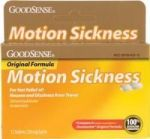 Product Photo: GoodSense® Motion Sickness Tablet 12 Count, Original Formula