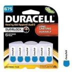 Product Photo: Optimal Duracell® EasyTab® Hearing Aid Battery, DA675B6ZM10, Size 675