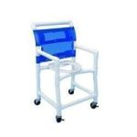 "Product Photo: Folding Shower Commode Chair 36"" H x 7"" W x 40"" D - Item #: HMPSC6013S"