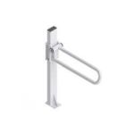 "Product Photo: Healthcraft Product PT Right Rail Hinged 28"" L, White, Alloy Steel"