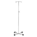 Product Photo: Invacare Standard IV Stand with 4-Leg Steel Base