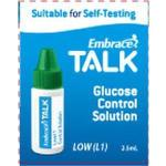 Product Photo: Omnis Embrace® Talk Blood Glucose Control Solution, Low Flow