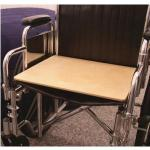 "Product Photo: SafetySure Wooden Wheelchair Board, 18"" x 18"" - Item #: RI5420"
